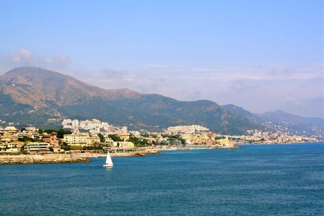 Departure from Genoa